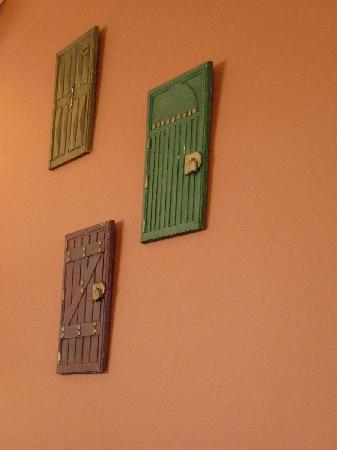 Fried Bananas Restaurant : Detalles de la decoración del lugar