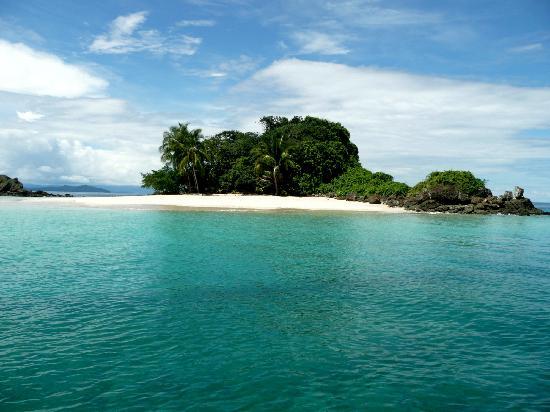 Isla de Coiba, Panama: granito de oro