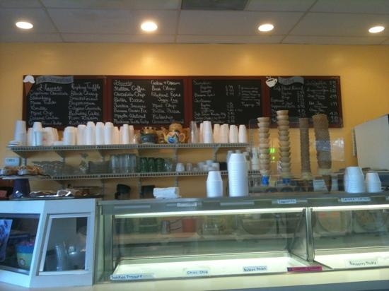 Truly Scrumptious Ice Cream Cafe : great food!
