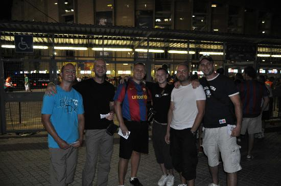 Barcelona Guide Bureau - Day Tours: The best time of our tour - FCB match