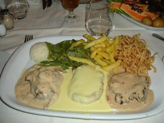 Restaurante O Infante: Três Filetes do Chefe