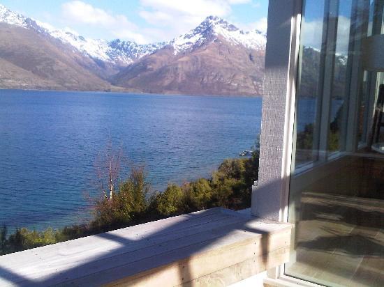 Matakauri Lodge: From the balcony