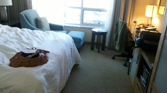 Hilton Garden Inn Baltimore Inner Harbor: Photo Showing The View From  Inside The Door And
