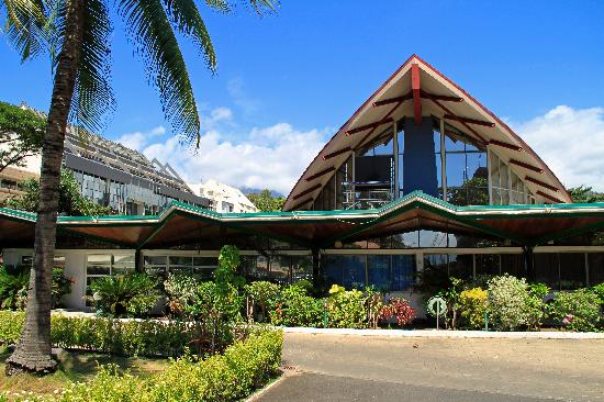 Papeete, French Polynesia: Territorial Assembly Building (Parliament)