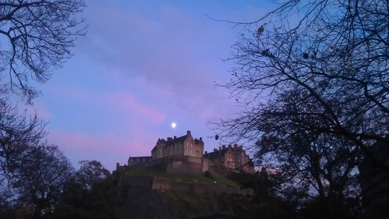 Edinburgh, UK: Castle!