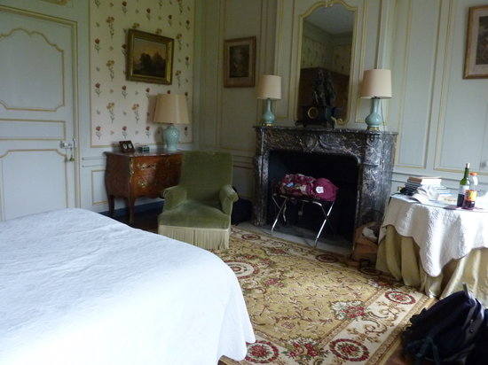 Chateau de Bouceel: Our room