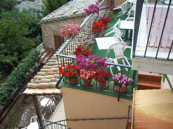 terrazza ristorante - Picture of Hotel Posta Panoramic, Assisi ...