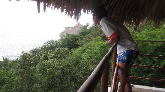Miramar: Ricardo chequando el surf