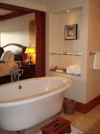 Hotel Quintessence: Bain