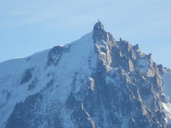 Telepherique du Brevent : Vue sur l'Aiguille du Midi