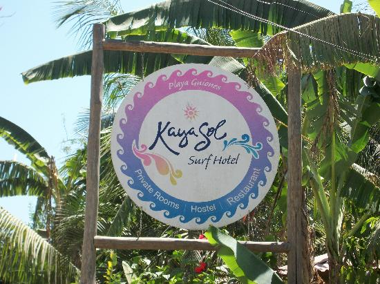 KayaSol Surf Hotel: Welcome to KayaSol