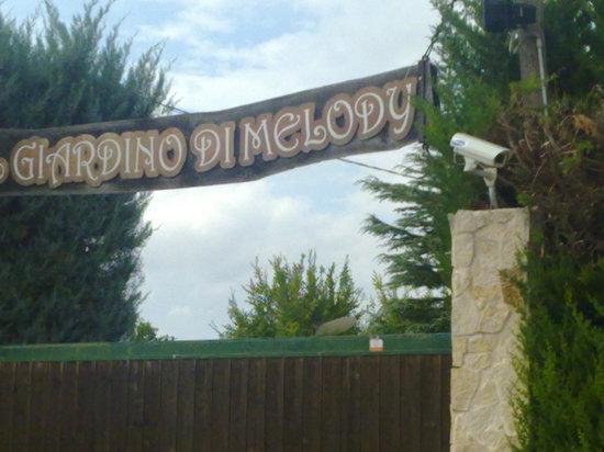 Il Giardino di Melody: L'ingresso