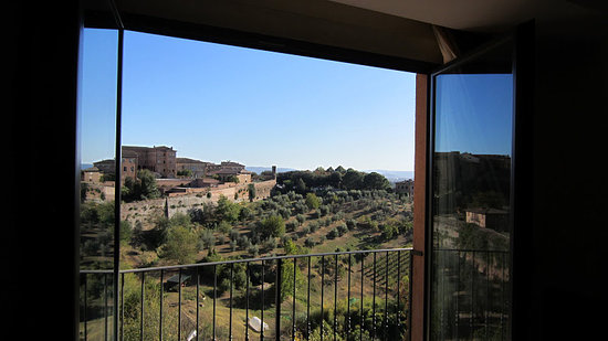 Hotel Athena: The view from our room.  Beautiful.