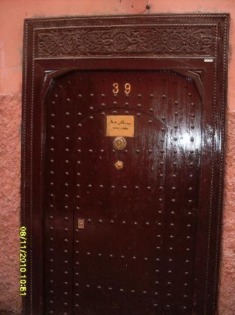 Riad Alwane: porta di ingresso al riad