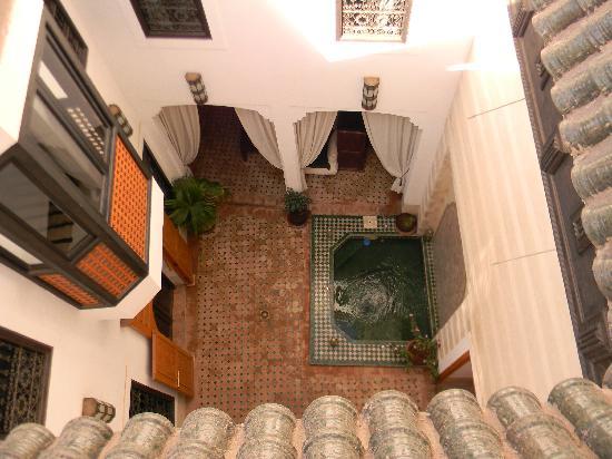 Riad Les 5 Soeurs: Le patio