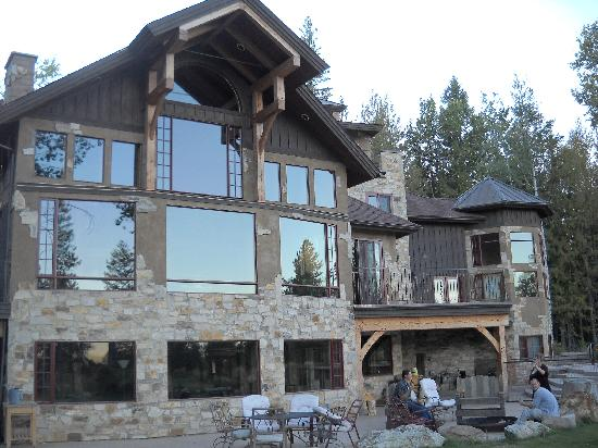 Talus Rock Retreat: The House