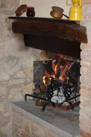 La Casa Colonica: Fire