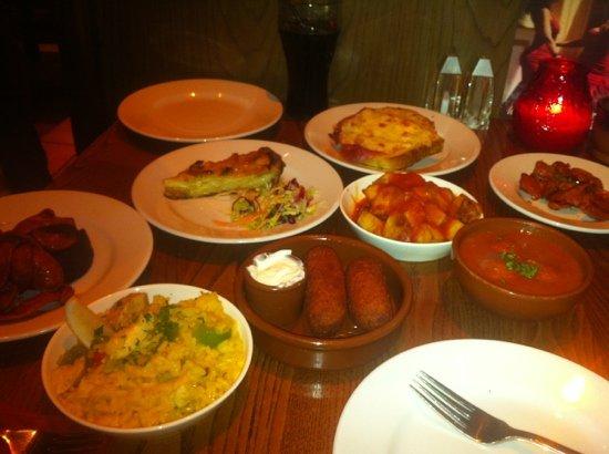 Torres Tapas Restaurant: food was ok but not great