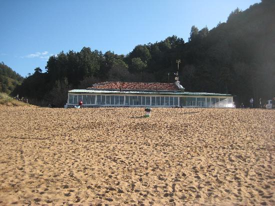 Toki Alai : El Restaurante desde la playa