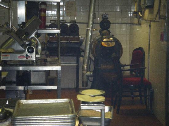 steak house kitchen kitchen tour picture of berns steak house tampa tripadvisor