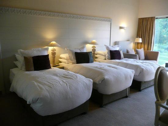 Monart: comfy beds!