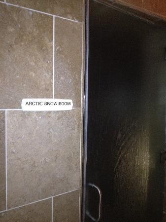 Senses Spa & Salon : Arctic Snow room for ladies
