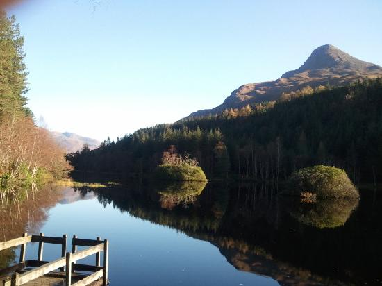 The Glencoe Inn: View of Pap of Glencoe from Glencoe Lochan