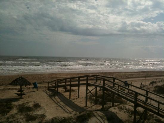 Surfside Beach, TX: view from room 305.
