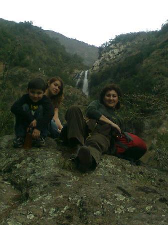 Cascada de las Animas: La cascada