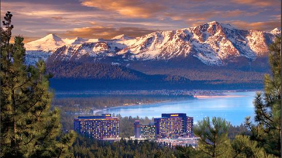 Lago Tahoe, NV: Harrah's and Harveys Lake Tahoe