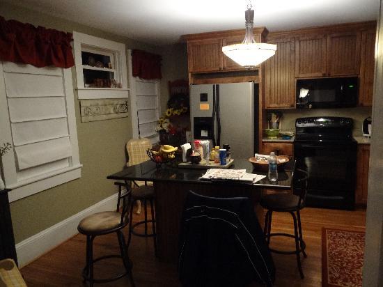 The Red Lantern Inn: A very updated kitchen