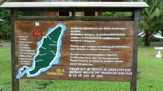 Valle del Cauca Department, Κολομβία: Willkommens-Schild Nationalpark