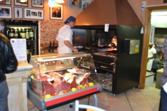 Il Trovatore: Meat Case and Wood Fired Oven