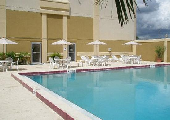 Quality Inn & Suites Winter Park Village Area: Sun Deck and Pool