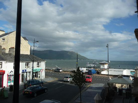 Warrenpoint, UK: View from bedroom window