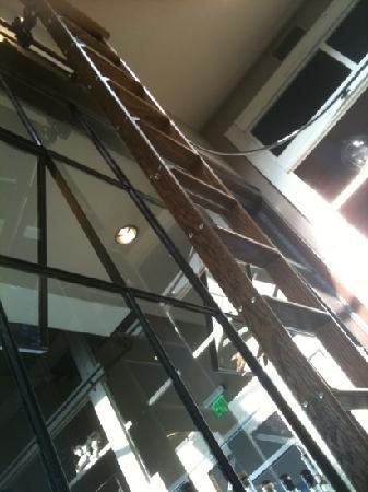 rolling ladder in Miller Union