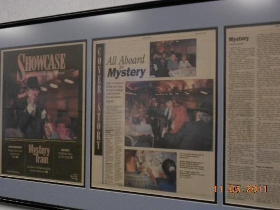 Seminole Gulf Railway Murder Mystery Dinner Train: write up