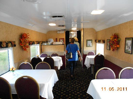 Seminole Gulf Railway Murder Mystery Dinner Train: as we entered