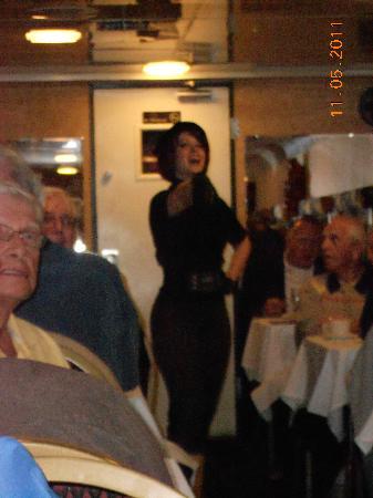 Seminole Gulf Railway Murder Mystery Dinner Train: one of the actors