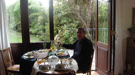 Villa Toscana: petit dejeuner
