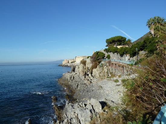 Passeggiata Anita Garibaldi a Nervi : Panorama