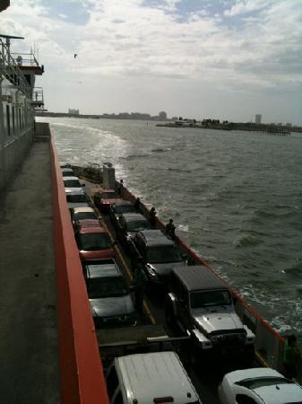 Galveston - Port Bolivar Ferry: Great views!