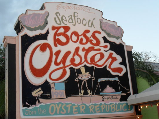 Boss Oyster : You found it