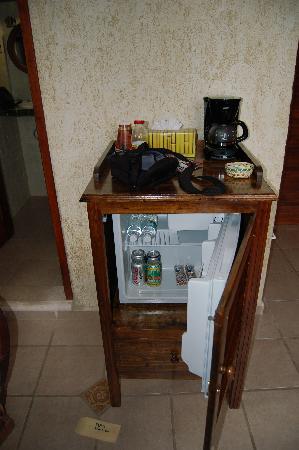 Maison Tulum : Zimmer Nr. 5 Minibar