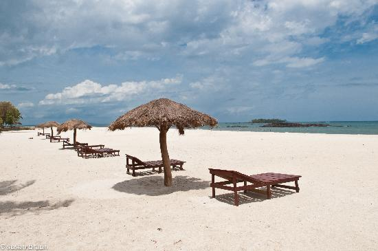 Tokeh Sands Beach Resort: The view