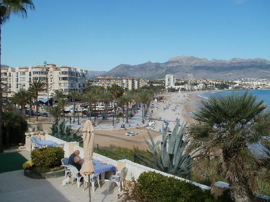 El Albir, Spain: Albir prom from hotel patio