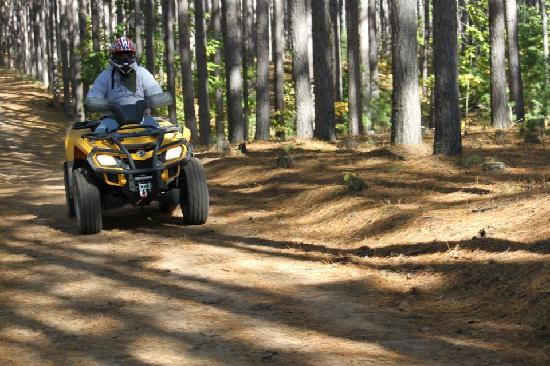 Spur of the Moment Ranch: ATVing your Sport Join Us