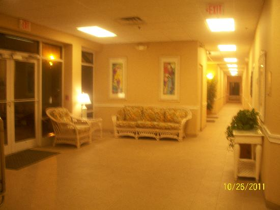 Golden Sands: lobby of our building