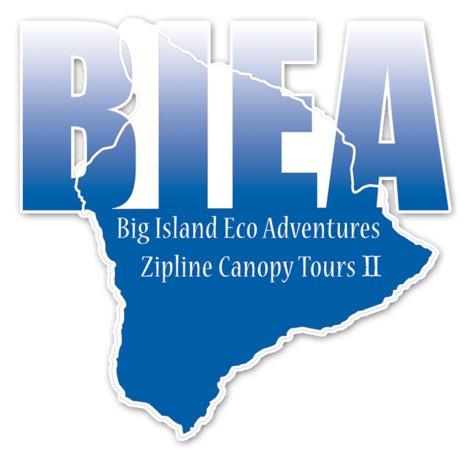 Big Island Eco Adventures II Zipline Canopy Tour : BIEA II Official Logo