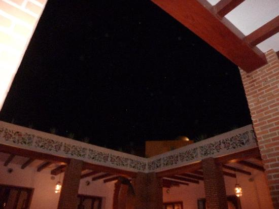 Excellence Playa Mujeres: open air ceiling at Agave
